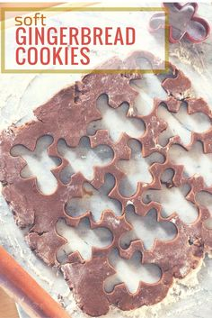 Soft Gingerbread Cookies. A classic cut-out cookie. From Blossom to Stem | Because Delicious | www.blossomtostem.net
