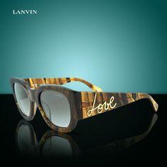 00ad221690f Lanvin Paris SLN-630 Chunky Dark Tortoise Love Brown Women Sunglasses