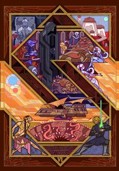 The Return of the Jedi by Jian Guo - Droids Star Wars - Ideas of Droids Star Wars - The Return of the Jedi by Jian Guo Star Wars Comics, Star Wars Droiden, Star Wars Gifts, Star Wars Painting, Star Wars Pictures, Star Wars Wallpaper, Disney Wallpaper, Star Wars Tattoo, Poster Design