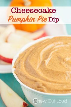 Cheesecake Pumpkin Pie Dip - Under 10 minutes. Creamy, smooth, luscious dip that goes well with apples, gingersnaps, or graham crackers. Perfect for holiday parties. Pumpkin Pie Dip, Pumpkin Spice Cookies, Best Pumpkin, Baked Pumpkin, Pumpkin Recipes, Bacon Dip, Best Food Ever, Diy Food, Food Ideas