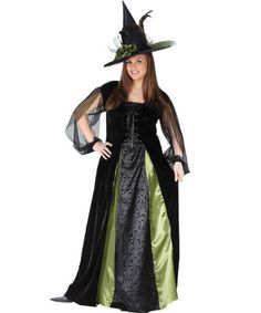 Goth Maiden Witch Womens Plus Size Costume   ALL WOMENS
