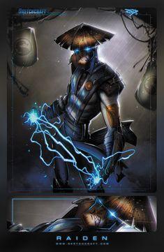 Mortal Kombat - Raiden by Rob Duenas