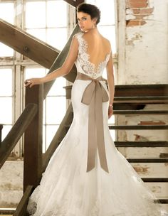 Mermaid Wedding Dress by | Bridal boutique and Wedding accessories