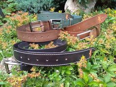 Šitý opasek :: Ps-dragonfly Ps, Belt, Leather, Accessories, Belts, Ornament