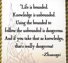 Oh Zhuangzi...