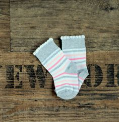 Baby sock new born girl socks Cotton sock soft by happybrthdybaby