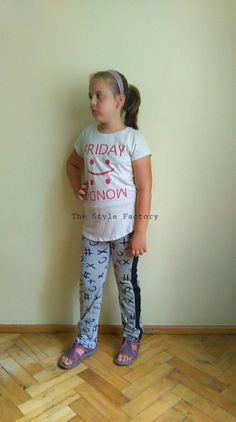 Pants - circle and cross print  // thestylefactory.pl //