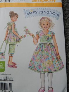 Hey, I found this really awesome Etsy listing at https://www.etsy.com/listing/200220958/simplicity-2464-daisy-kingdom-by-springs