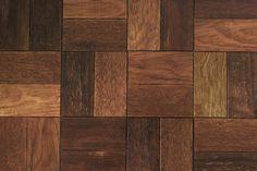 Wzór plecionki ułożony z płytek parkietowych dudzisz wood and floor / Basketweave pattern made of dudzisz wood and floor parquet tiles
