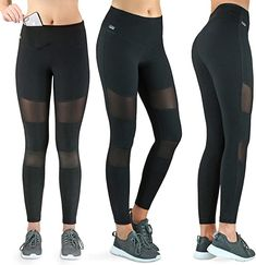 Tolle Hose, toller Service!  Bekleidung, Damen Capri Leggings, Yoga Leggings, Workout Leggings, Nordic Walking, Jogging, Running Tights, Trousers, Pants, Running Women