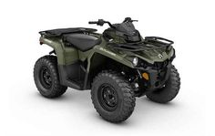 New 2017 Can-Am Outlander 450 ATVs For Sale in West Virginia. Key Features Rotax® engine options Continuously Variable Transmission (CVT) with engine braking Double A-arm front suspension Torsional Trailing arm Independent (TTI) rear suspension Visco-Lok® auto-locking front differential 1,300-lb (590 kg) towing capacity 5.4-gal (20.5 L) fuel capacity 25-in. Carlisle® Trail Wolf tires Surrounding Spar Technology (SST) G2 frame with Geometric Contact Control Multifunction digital gauge…