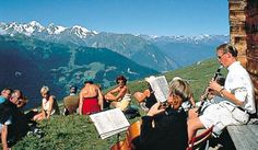 Music and Mountains in Verbier