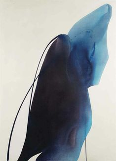 Paul Jenkins — Phenomenia Bearer of Blue 1963
