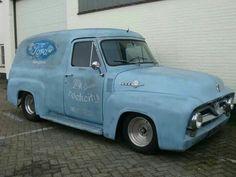 . Small Trucks, Old Trucks, 56 Ford Truck, Puerto Rico History, Panel Truck, Old Cars, Old School, 4x4, Vans