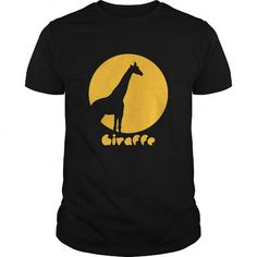 Cool Animals Design  Giraffe T-Shirts