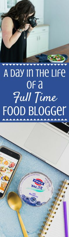 what goes into being a food blogger? I'm sharing the behind the scenes of a Day in the Life of a Food Blogger and what goes into building a successful food blog. This post is sponsored by FAGE yogurt + Everywhere Society.
