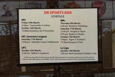 Beers, pizza and sports... only at DR Sports Bar on Jalan Raya Candidasa www.diningroomcandidasa.com  #bali #sportsbar #laliga #AFL #NRL #ufc #candidasa #eastbali #travel #traveler #sports #beers #pizza #sportsfan #funtime