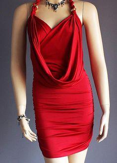 Kup mój przedmiot na #vintedpl http://www.vinted.pl/damska-odziez/krotkie-sukienki/10394453-ruthless-sexy-czerwona-karminowa-sukienka-nowosc-sml