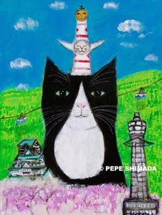 """pepeart : """"Osaka Cat"""""""