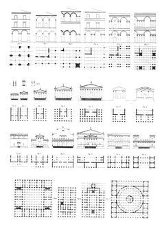 Jean Louis Durand, compendio de lecciones de arquitectura (1802 – 1805). Discípulo de Boullée utiliza un módulo fijo basado en el cuadrado y en el empleo de la retícula de la que surgen la planta y el alzado. El uso de este sistema tendrá una importancia decisiva en la arquitectura de los ingenieros así como en las construcciones metálicas.