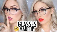 Makeup Tutorial for GlassesUSA.com  LOOKBOOK Frames & Lipstick Pairings