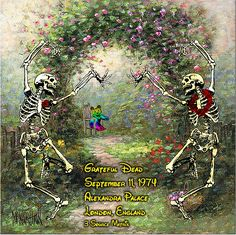 Grateful Dead Live at Alexandra Palace on 1974-09-11 : Free Streaming : Internet Archive