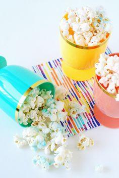 ombré popcorn