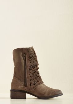Not Matte About It Boot. Stride toward blissful vibes in these earthy taupe…
