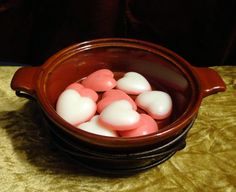 Highly Scented Heart Shaped Soy Wax Tarts  2 by MMCandleCreations, $3.00