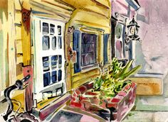 Tomorrow from 2pm-6pm @ Farnsworth Gallery in Bordentown, we plein air participants will be selling our paintings.