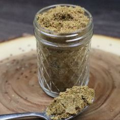 simple and easy recipe of idly powder with flaxseeds. spicy, healthy and tasty idly podi recipe. Veg Yummy Recipes, Healthy Soup Recipes, Quick Recipes, Gluten Free Recipes, Indian Food Recipes, Asian Recipes, Baking Recipes, Homemade Spice Blends, Homemade Spices