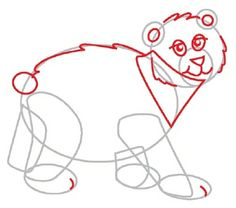 """TLC """"How to Draw a Bear"""""""