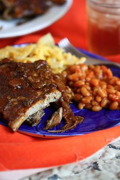 Sweet & Spicy Crock Pot Ribs.  Gonna try soon and will let you know. Hoping to find this run/sauce around here