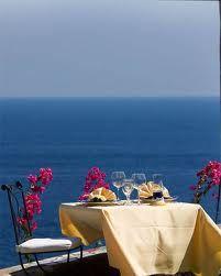 Positano Restaurant Hotel Onda Verde  Praiano - Amalfi Coast - Positano