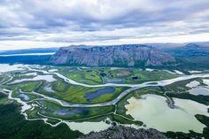 Rapa Valley in Sarek National Park, Sweden