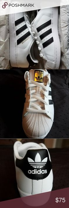 Adidas Superstar Originali In Bianco Superstar Originale, Adidas