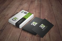 Visual reality Business card Mock Up