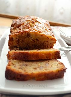 Shortcut Amish Friendship Bread (no starter) - no kneading, great for breakfast or dessert - from kitchennostalgia.com