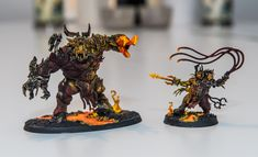 Concept army Khorgorath and Bloodstoker