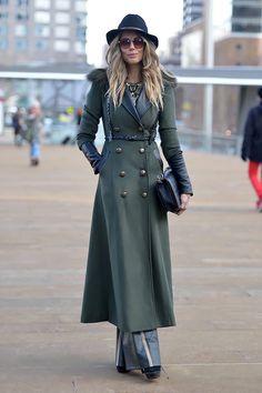 Fashion Week di New York AW14: street style.