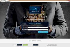 Extranet Promotion Groupe Launay | Acreat Web Technologies Promotion, Web Technology, Group, Self Confidence
