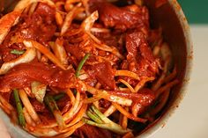 Week of Menus: Korean Spicy Pork (Dweji Bulgogi 돼지불고기 or Jeyeuk Bokkum 제육볶음): Guilt and Motivation