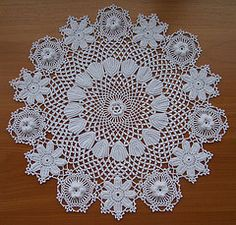 Ravelry: Rose of Sharon Doily #7271 pattern by The Spool Cotton Company  free crochet pattern