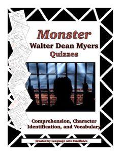 Monster walter dean myers essay