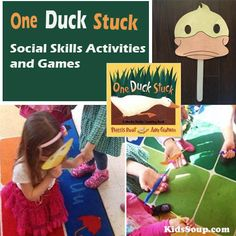 One Duck Stuck: Helping Others Social Skills Activities