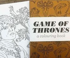 Stock up on red crayons and get ready to bring the land of Westeros to life with the Game Of Thrones coloring book. This exciting book features realistically drawn characters from the hit TV show, as well as extremely detailed house sigils to color in. Game Og Thrones, Coloring Books, Coloring Pages, Red Crayon, Nerd Chic, Rhyme And Reason, Girl Guides, To Color, Thought Provoking