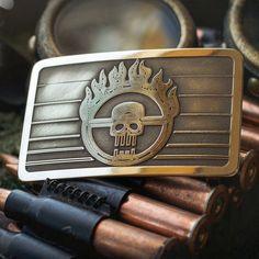 Mad Max Fury Road MadMax brass belt buckle