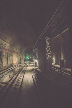 The subways in negative sector