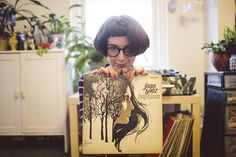 Urban Outfitters - Blog - Record Collector: Jameela Wahlgren