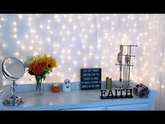 background setup filming diy lights backdrop studio backgrounds beauty makeup backdrops channel decoration lighted lighting simple fairy rooms production business